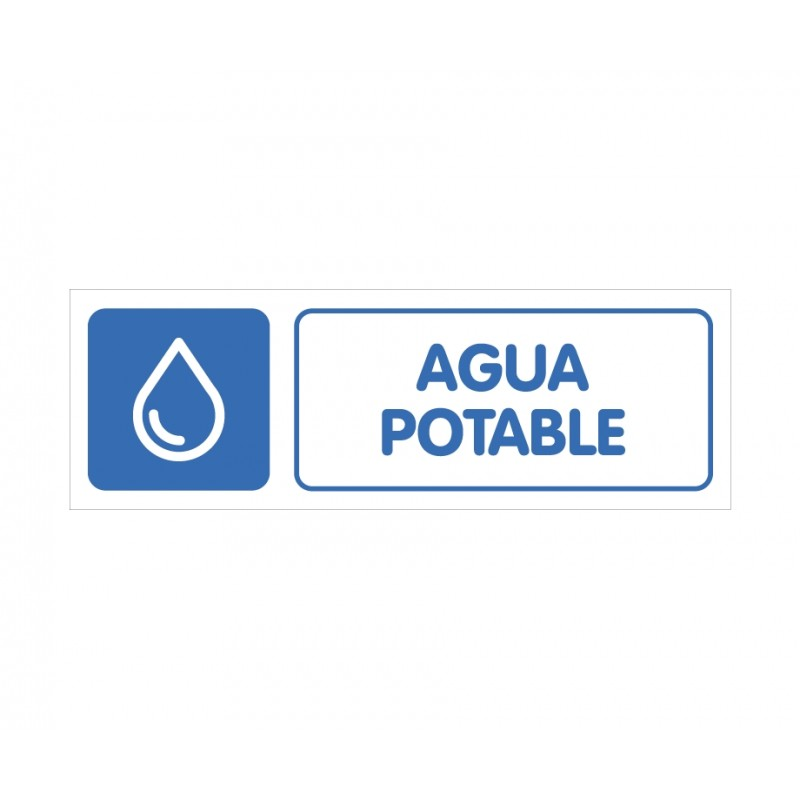 AGUA POTABLE CON ROTULO